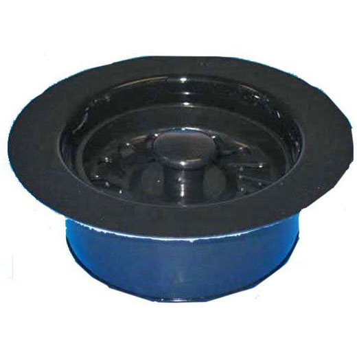 JB PRODUCTS JBX120 DISPOSAL WASTE ASSY BLACK (FITS STD INSINKERATOR) DISPOSER FLANGE, STOPPER (B03-005)