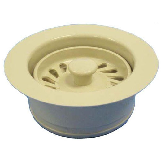 //MWSL// DISPOSER WASTE ASSY ALMOND / BONE (FITS STD ISE) DISPOSER FLANGE, STOPPER (JBC) (B03-004)(JBX122) MC1552