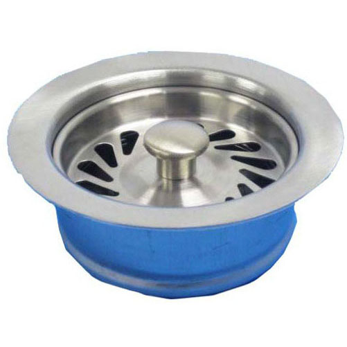 JB PRODUCTS JBX128 DISPOSAL WASTE ASSY BRUSHED STAINLESS (FITS ALL ISE DISPOSERS) DISPOSER FLANGE, STOPPER (B03-401)