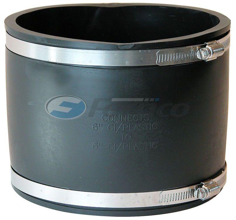 FERNCO 1056-66 COUP CI-PLASTIC 6X6