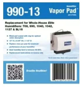 GENERAL 7002 HUMIDIFIER PAD THIS PAD FITS (709,990,1040,1042, 1137,& SL16) (990-13)