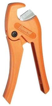 GENERAL WIRE SUS PLASTIC TUBING CUTTER cuts up to 1