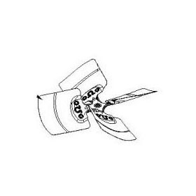 //WSL// GMC 0150M00031SP FAN BLADE (GSX13024) MC336879