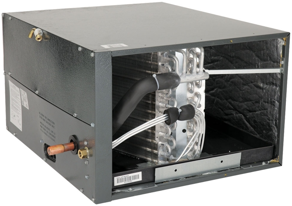 """GMC CHPF3636B6? 3 TON HORIZONTAL PAINTED (17.5"""" FURNACE) R-410A/R22 COIL WITH FLOWRATER (W 21-1/8"""" x D 26"""" x H 17-1/2"""")"""