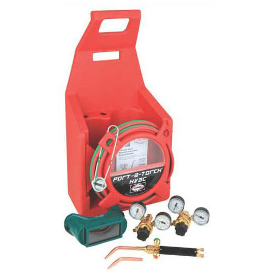 HARRIS 4400159 OXY/ACETYLENE TOTE, BRAZING KIT, NO TANKS MC334674