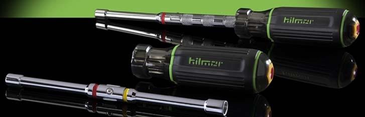 "HILMOR QCND QUICK CHANGE MAGNETIC NUT DRIVER 1/4"" & 5/16"" 1839054"