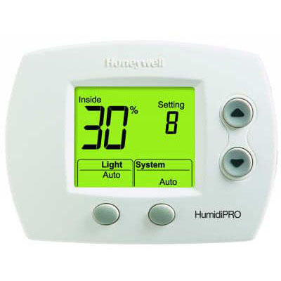 HONEYWELL H6062A1000/U HUMIDIPRO DIGITAL HUMIDITY CONTROL, HUMIDIFY, DEHUMIDIFY MC337795