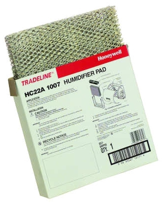 HONEYWELL HC22A1007/U HUMIDIFIER PAD (FITS APRILAIRE 110, 220, 550, 558) HONEYWELLL HE220, HE225) MC279489