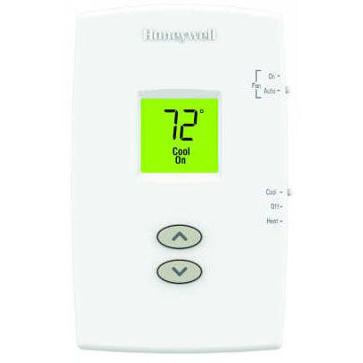HONEYWELL TH1110DV1009/U PRO 1000 NON-PROGRAMMABLE DIGITAL, 1H/1C THERMOSTAT, DUAL POWERED (24VAC AND/OR BATTERY) (WHEN OUT NO LONGER AVAILBLE)