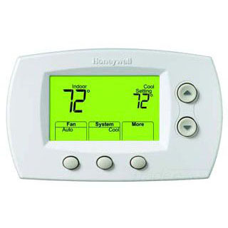 HONEYWELL TH5320R1002 NON-PROG. WIRELESS FOCUSPRO THERMOSTAT,UP TO 3H/2C HP, UP TO 2H/2C MS, BATTERY POWER ONLY,REDLINK ENABLED