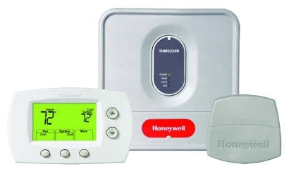 HONEYWELL YTH5320R1000 WIRELESS FOCUSPRO THERMOSTAT KIT: NON-PROG. TH5320R, EQUIPMENT INTERFACE MODULE, RA SENSOR, 3H/2C HEAT PUMP, 2H/2C MULTISTAGE, REDLINK ENABLED