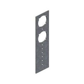 "HOLDRITE 709 GALVANIZED BRACKET WITH 1-3/8"" KEYED HOLES, 7-1/5"" LONG (LSP P1053)"