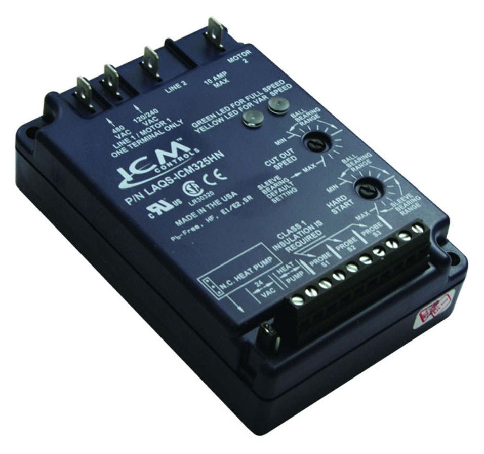 ICM CONTROLS ICM325HNC-LF LOW AMBIENT HEAD PRESSURE CONTROL, OUTPUT 120-480V VAC, TEMPERATURE INPUT, 1 PH. MC50628