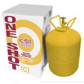 ICOR R422C ONESHOT REFRIGERANT, 24 LB CYLINDER