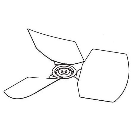 UPG S1-026-42434-000 FAN BLADE (THJD30, 36,42,48,60) MC334518