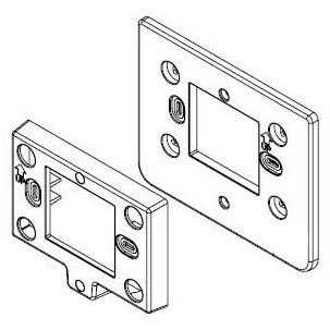 UPG S1-02815909000 HARD SURFACE MOUNTING PLATE & DECORATIVE BACKPLATE, COMM CONTROL MC295444