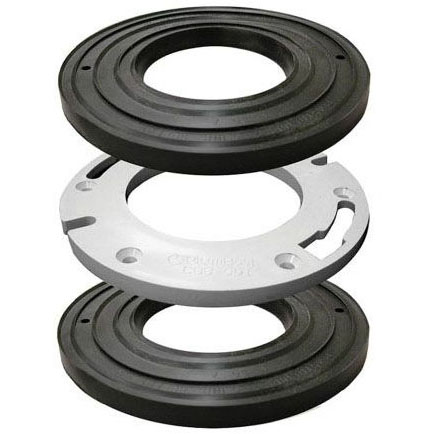 JONES C88-600 PVC CLOSET SPACER KIT 4