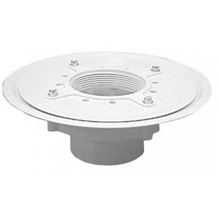 "JONES D52-203 HD DRAIN BASE 3"" (1/2"" trap primer tap and plug)"