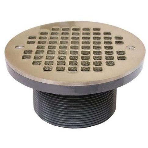 JONES D56-406 NB STRAINER W/PVC SPUD 6