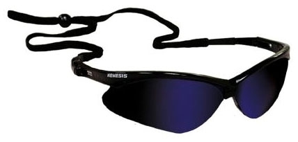 JONES G30-013 NEMESIS BLUE LENS GLASSES #19808