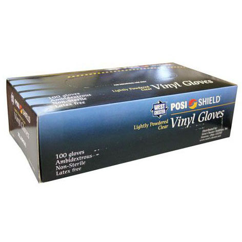 LATEX FREE DISPOSABLE GLOVES (1839006) (G50-250) (100 GLOVES PER BOX)