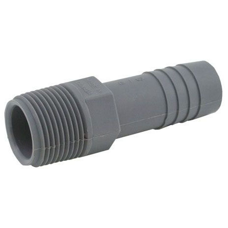 JONES I10-001 PLASTIC INSERT MALE ADAPTER 1/2