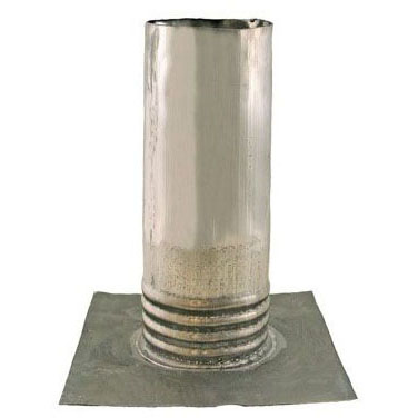 "JONES R70-200 2"" LEAD ROOF FLASHING 8-1/2""x10-1/2""x10-7/16"" 2-1/2#"