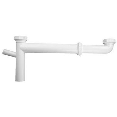 KEENEY 127W PVC SLIP JOINT CONT. WASTE WITH DISHWASHER SPOUT E.O. (35384) MC36738