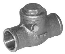"LEGEND (LFC) 105-205NL 1"" SWT BRASS SWING CHECK VALVE S-451"