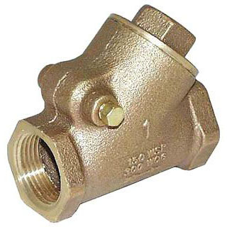 "LEGEND (LFC) 105-305NL 1"" IPS BRASS Y CHECK VALVE T-453"