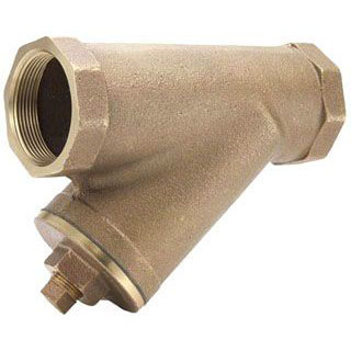 "LEGEND (LFC) 105-505NL 1"" BRONZE Y-STRAINER IPS      **LEAD FREE COMPLIANT**"