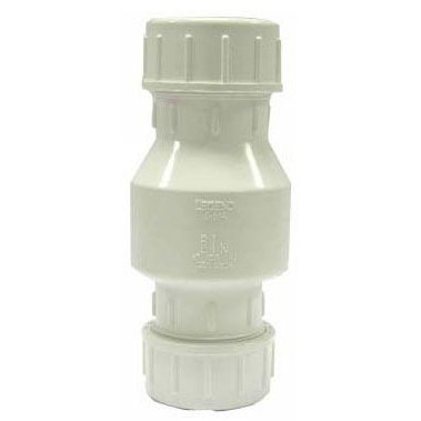 "LEGEND S-614 1-1/4"" OR 1-1/2"" PVC COMPRESSION CHECK VALVE (203-237)"