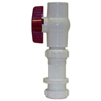 LEGEND S-670 PVC CHECK/BALL VALVE 1-1/2 (203-257)