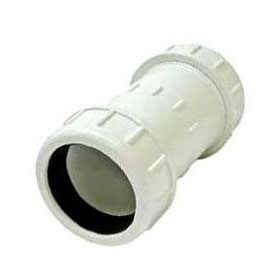PVC COMPRESSION COUPLING 4