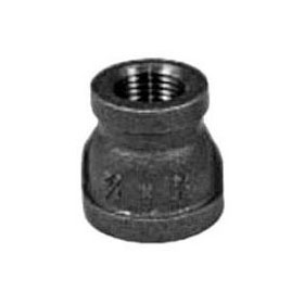 "STD BLK COUPLING 3/4""X 1/2"""