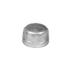 STD GALV CAP STEEL 1/2