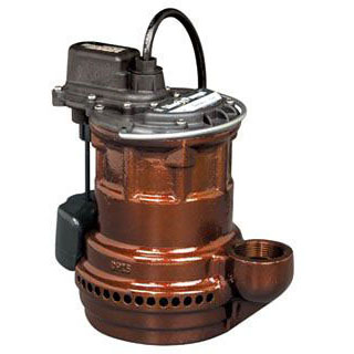 LIBERTY 247 SUBMERSIBLE SUMP PUMP, 1/4 HP, CAST IRON, VMF VERTICAL MAGNETIC FLOAT (SWITCH) (3 YEAR LIMITED WARRANTY)