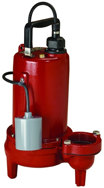 (SCRATCH & DENT) LIBERTY LE102A2 1HP SEWAGE PUMP 208/230V/1PH, 10' CORD 2