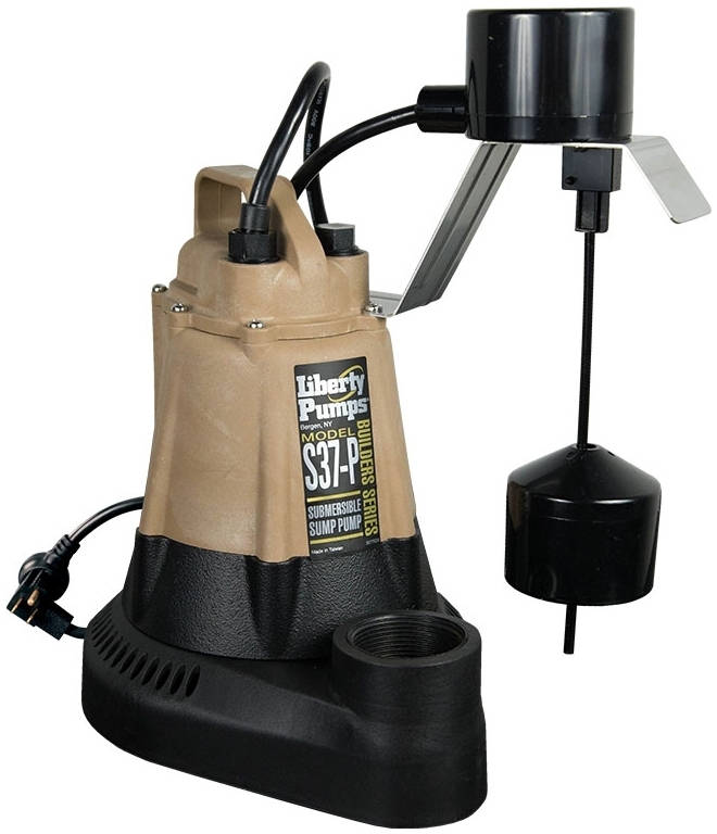 LIBERTY S37 1/3HP SUBMERSIBLE SUMP PUMP