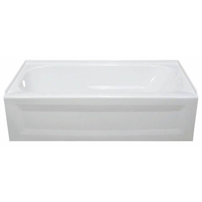 LYONS ET01603219R TUB ONLY BISCUIT RH 60 X 32 X 19 ACRYLIC