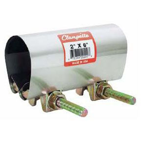 CLAMPETTE 330-046 2 BOLT PIPE REPAIR CLAMP 3/4