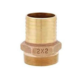 MATCO IBMA06 BRASS INSERT MALE ADAPTER 1-1/4