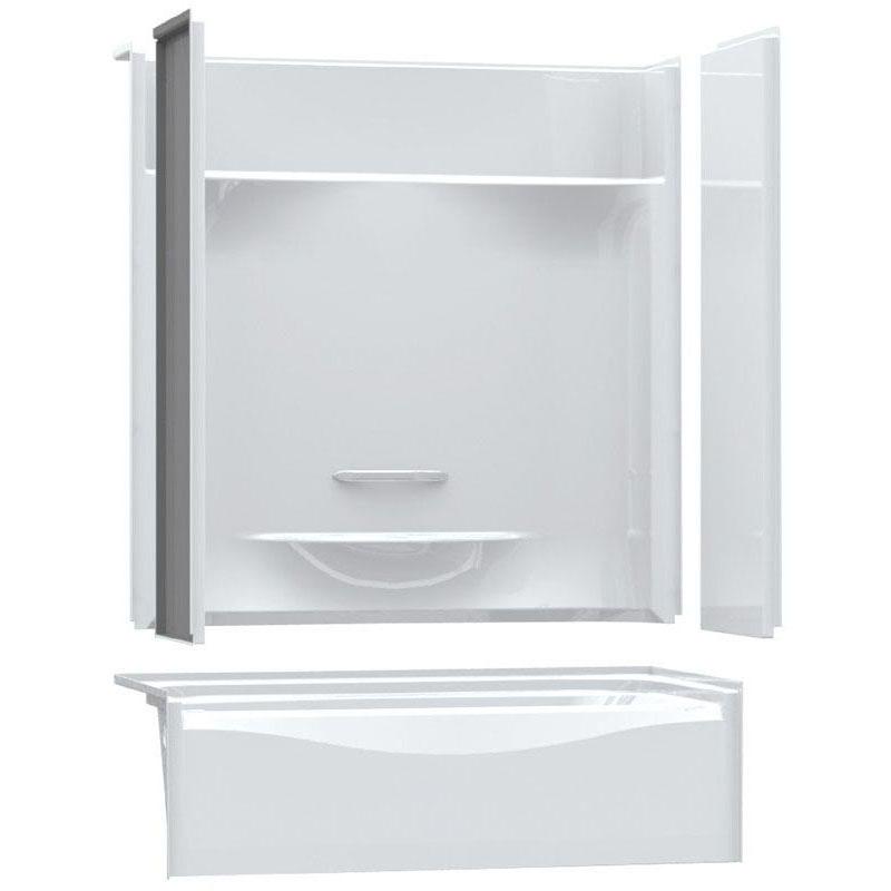 AKER KDTS3060 RIGHT DRAIN WHITE (142006-R-000-002-195) TUB/SHOWER 4 PIECE **ASSM** MC308101