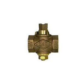 A.Y.McDONALD 10554 1-1/2 SQUARE HEAD GAS STOP