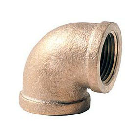 BRASS (NLFC) 101 90 ELBOW 1-1/2