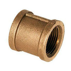 BRASS (LFC) XNL111-04 COUPLING 1/4