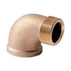 BRASS (LFC) XNL103-08 90 STREET ELBOW 1/2