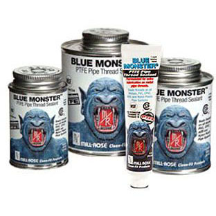 MILL-ROSE 76005 BLUE MONSTER INDUSTRIAL GRADE THREAD SEALANT WITH TEFLON 1pt/16oz MC274190