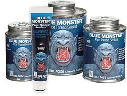 MILL-ROSE 76011 BLUE MONSTER THREAD SEALANT COMPOUND 1/2 PINT