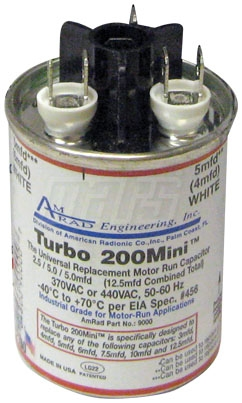 MARS 12100 TURBO MINI UNIVERSAL CAPACITOR